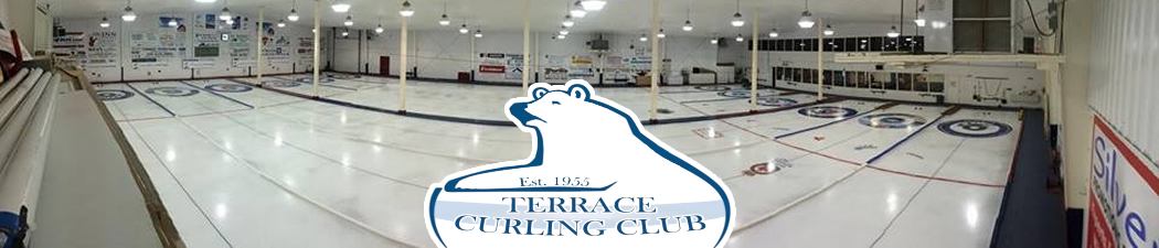 Terrace Curling Association banner