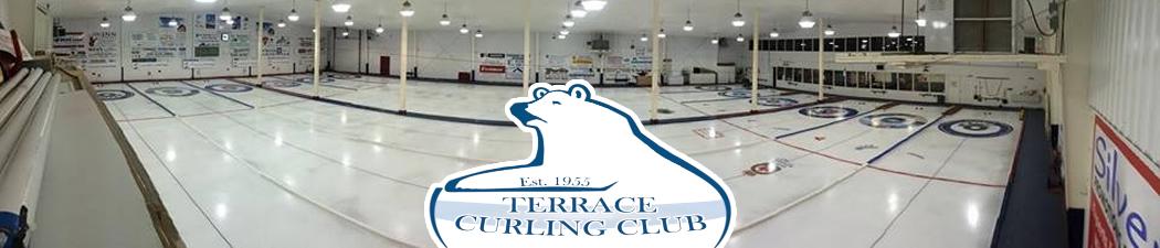 Terrace Curling Association banner